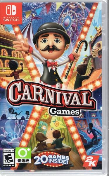 現貨中 Switch遊戲NS 體感嘉年華Carnival Games: Monkey 中英文版  【玩樂小熊】