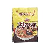 韓國不倒翁 金螃蟹海鮮風味拉麵130g*4包(整袋裝)【小三美日】泡麵/進口/ 團購