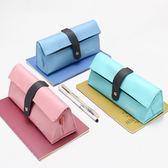 筆袋韓國款簡約創意生可愛小清新大容量文具盒夢想巴士