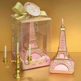 創意埃菲爾鐵塔情人節表白求婚禮物蠟燭    SQ9026..『寶貝兒童裝』TW