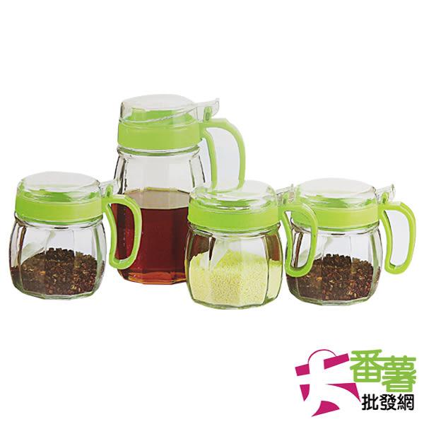 彩晶 有機廚房4件式調味瓶組 [10P]-大番薯批發網