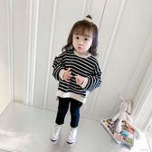 女童衛衣1-2-3歲4嬰兒童寶寶長袖上衣小童外套 蓓娜衣都