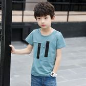 男童短袖t恤兒童裝夏裝中大童男孩5半袖上衣9韓版潮12歲 奇思妙想屋