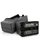 Dr.battery 電池王 for SONY NP-FM90/FM91/QM91 鋰電池+智慧型快速充電器