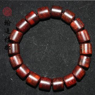 精品小葉紫檀桶珠手鏈10mm