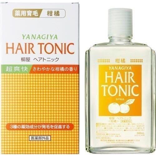 日本柳屋頭皮水 頭髮水 加強版柑橘
