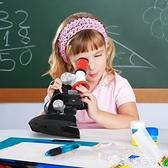 康大顯微鏡兒童科學初中生小學生專業生物高倍1200倍家用實驗套裝 LX 艾家