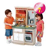 【A4-7546】法式廚房-美國STEP2兒童幼兒玩具扮演廚房遊戲屋 扮家家酒 收納置物 瓦斯爐電話附配件