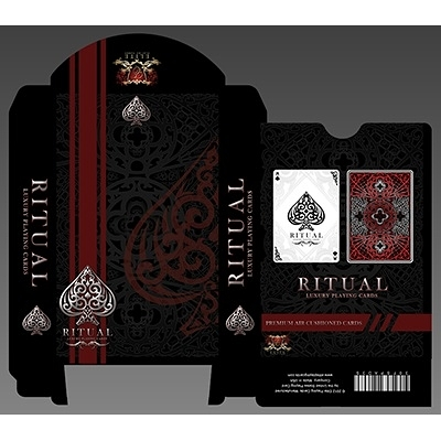 【USPCC 撲克】Ritual RED playing cards made by USPCC