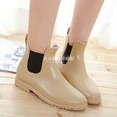 雨鞋短筒雨靴防滑水靴膠鞋時尚防水鞋【大小姐韓風館】