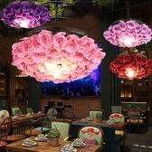 吊燈 音樂餐廳網紅店鋪裝飾燈具繁華酒吧燒烤吧火鍋店 現貨快出YJT