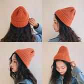 針織毛線帽子女秋冬季韓版百搭休閒冬天甜美可愛潮韓國ins男冷帽