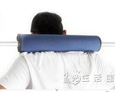 加厚加長杠鈴護肩 深蹲護肩杠鈴墊套 杠鈴桿套 護頸杠套健身護具 小時光生活館
