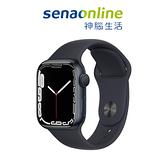 Apple Watch S7 GPS 45mm 午夜鋁金屬-午夜色運動型錶帶[預約賣場]