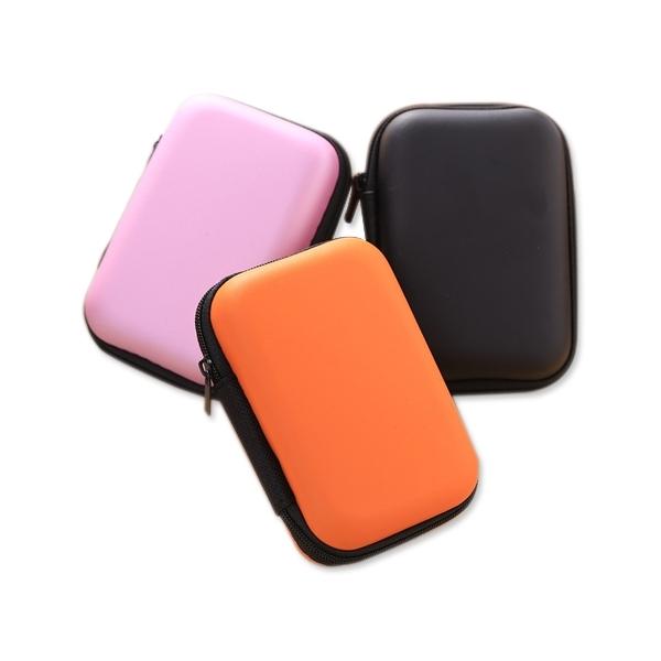 純色數據線/行動電源收納包(1入)【小三美日】顏色隨機出貨