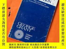 二手書博民逛書店Lament罕見for a Nation: The Defeat of Canadian Nationalism