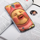 Samsung Galaxy J N075T 手機殼 軟殼 保護套 醜比頭 屁桃君