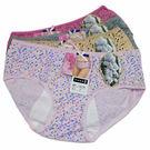 吉妮儂來6件組舒適中低腰圓點生理棉褲  (隨機取色)