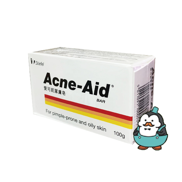 愛可妮 潔膚皂 彩虹 100g :Stiefel 史帝富 Acne Aid (油性/痘痘肌適用/可用來洗全身)