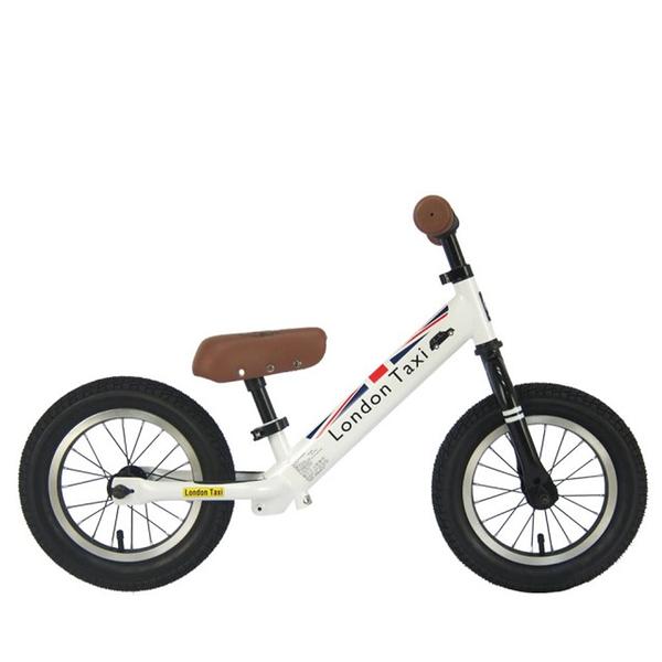 BabyPark 英國London Taxi 充氣胎平衡滑步車 白色 平衡車 Kick bike