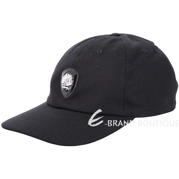 Versus Versace LION 經典立體獅頭徽章棒球帽(黑色) 1810159-01