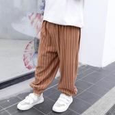 男童燈籠褲夏裝兒童薄款男寶寶休閒長褲【聚可愛】