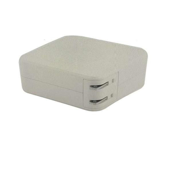 [9美國直購] L型白色充電器 60W 適用Mac Book and 13-inch Mac Book Pro(Before Mid 2012 Models) B08JQ3FWKD