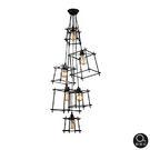 吊燈★現代工業風 立方造型吊燈 6燈✦燈具燈飾專業首選✦歐曼尼✦