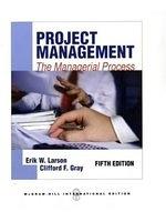 二手書博民逛書店《Project Management: The manager
