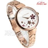 RELAX TIME 櫻花系列 玫瑰金x白 不銹鋼 女錶 加碼贈 限定櫻花雙面手環 RT-66-1