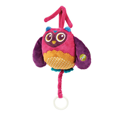 瑞士【OOPS】快樂音樂玩具-貓頭鷹