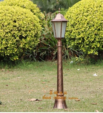 庭院燈 戶外單頭路燈花園別墅庭院燈草坪燈園林景觀燈室外燈防水