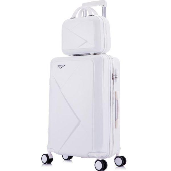 行李箱行李箱網紅抖音20寸28學生高中旅行箱子母箱男女潮拉桿晶彩生活LX