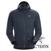 【Arc'teryx 始祖鳥】男刷毛外套 (採用美國 POLARTEC POWER STRETCH®布料)『夜鷹灰』L06934