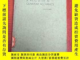 二手書博民逛書店rotation罕見of a rigid body in quantum mechanics(P3181)Y1