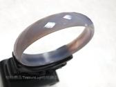 """紫瑪瑙/玉髓,更象徵夫妻和睦、恩愛、幸福,被譽為""""幸福之石"""" 玉鐲/玉環"""
