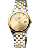 LONGINES 浪琴 旗艦系列真鑽機械腕錶/手錶-半金 L47743377