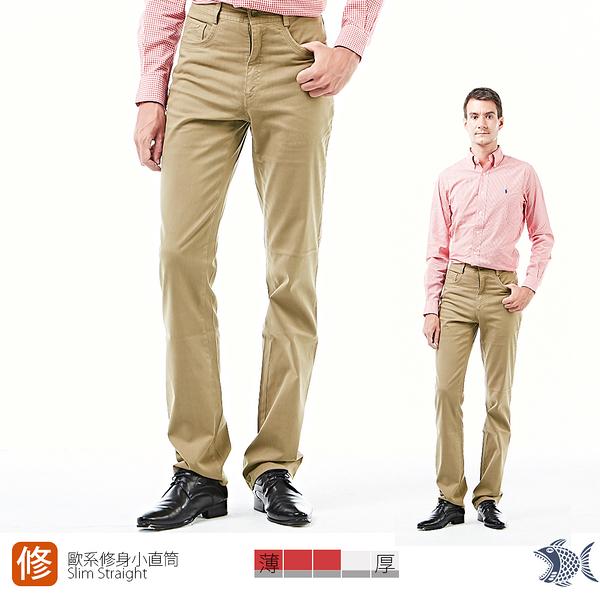【NST Jeans】復古狂潮 仿舊茶色休閒男褲(歐系修身小直筒) 380(5733) 台製 紳士 四季款