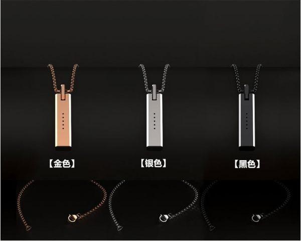 米布斯fitbit flex2 金屬挂墜 金屬項鍊磁吸挂墜吊配件配不銹鋼鏈 月光寶盒