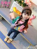 童裝女童t恤小童韓版長袖體恤兒童秋裝上衣潮衣女寶寶秋『水晶鞋坊』