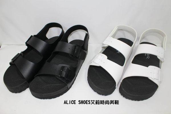 ALICE SHOES艾莉時尚美鞋 請把握!!搶鮮擁有潮流型韓流柏肯涼鞋@2357@(男生款)
