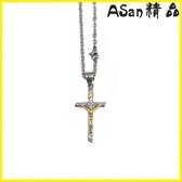 【伊人閣】十字架 十字架項鍊復古哥特風男女短項鍊飾品