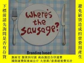 二手書博民逛書店Never罕見mind the sizzle...where s