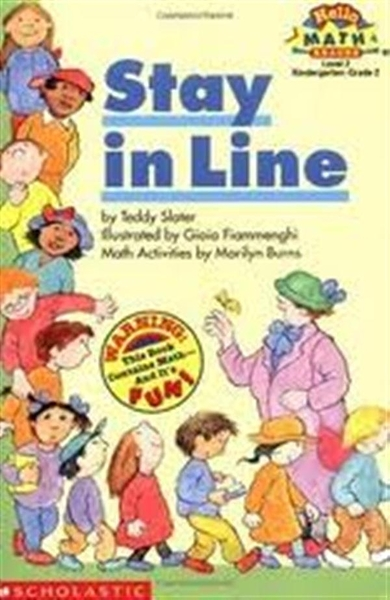 (二手書)Hello Reader Math Level 2: Stay in Line