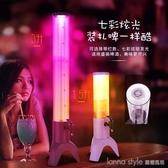 三腳果汁鼎 3L果汁飲料機 酒炮果汁桶 奶茶店檸檬茶單頭果汁容器 LannaS YTL