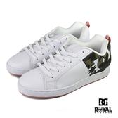 Dc Court Graffik 白色 皮質 休閒運動鞋 女款NO.J0359【新竹皇家 301043201】