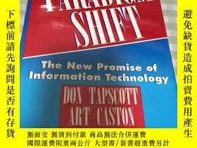 二手書博民逛書店PARADIGM罕見SHIFT The New Promise