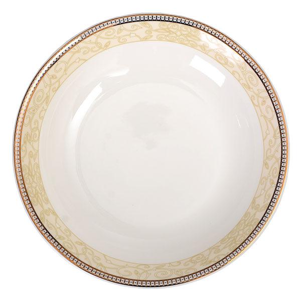 【Luzerne】陸升瓷器 Splendour Gold 22.5cm 深圓盤 /CW1202022