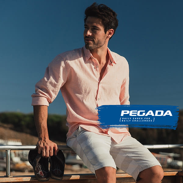 【PEGADA】巴西名品真皮休閒氣墊鞋/紳士鞋  黑色(123351-BL)