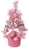 節慶王【X080415】繽紛成品小樹(粉),聖誕樹/聖誕佈置/聖誕燈/會場佈置/材料包/成品樹/小樹